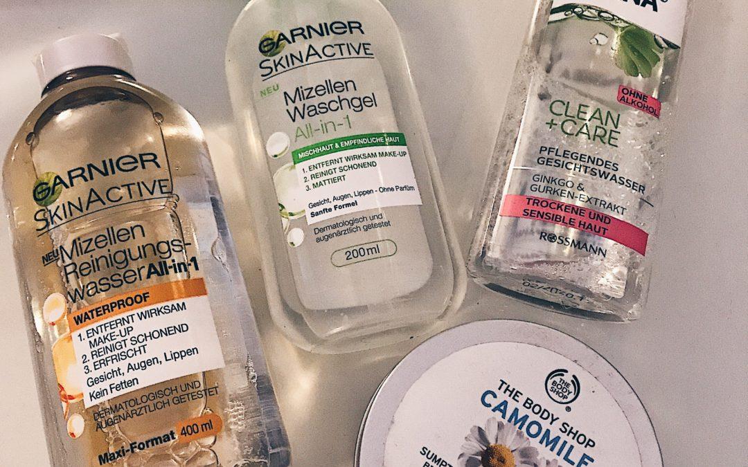 Warum eine gründliche Gesichtsreinigung so wichtig ist! Die 4 effektivsten Reinigungsprodukte, für tiefenreine Haut.